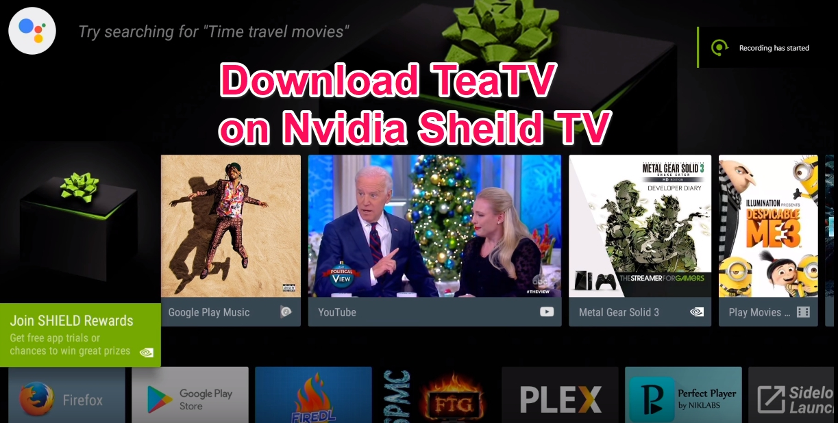 Teatv for Nvidia Sheild