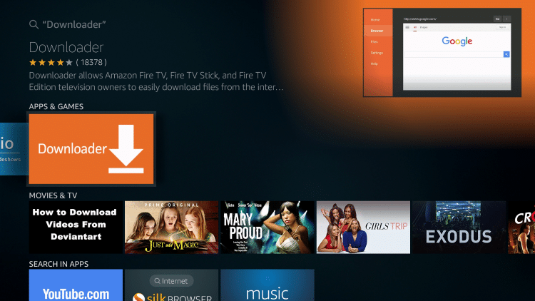 Install teatv for Firestick download