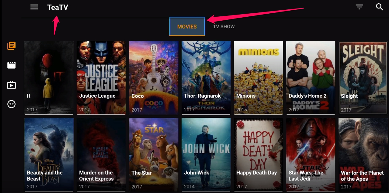 TeaTV Apk Installation guide for Android, PC Windows 10, Firestick