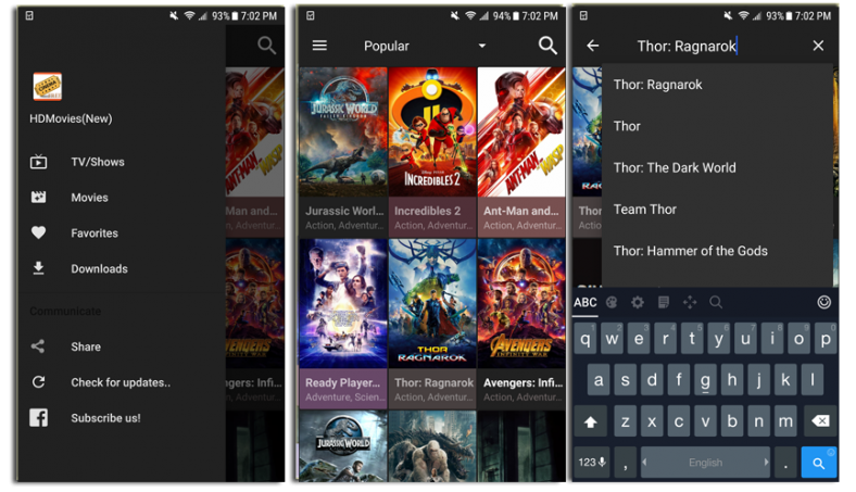 hd cinema android app