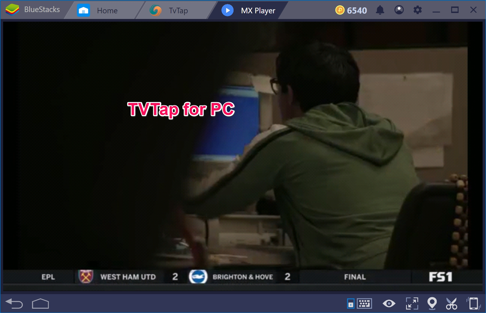 TvTap for PC Windows 10